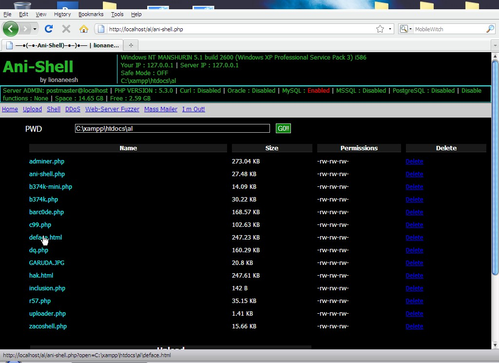 Shell C99 Php For Loop