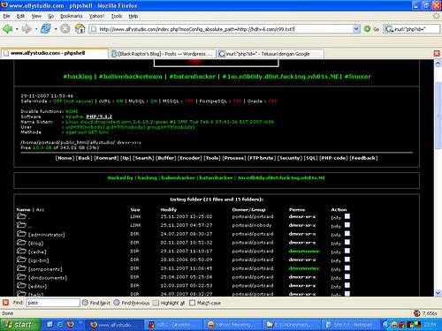 Dork shell c99 - Cyber Security