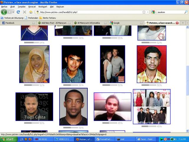Face Search Engine | Al-Mansyurin Informatika